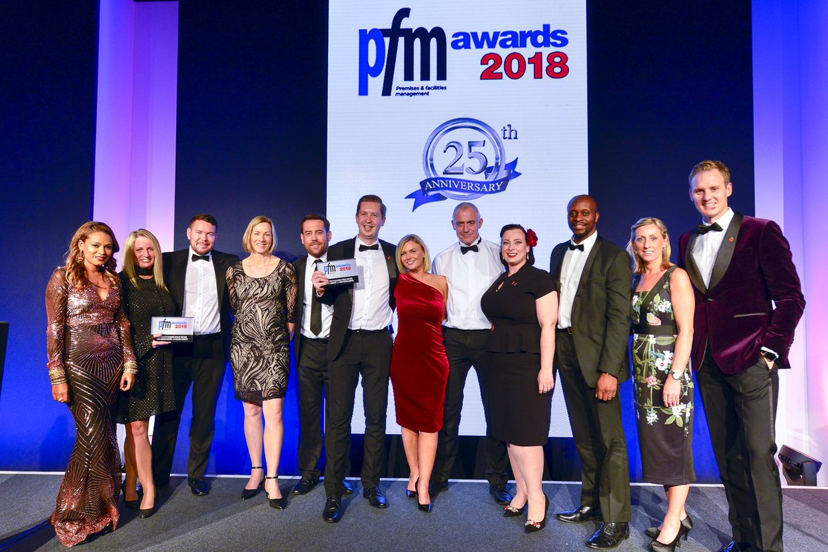 PFM award win ceremony FacMan